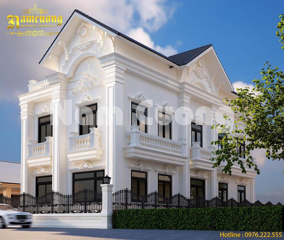 chi phí xây biệt thự tân cổ điển