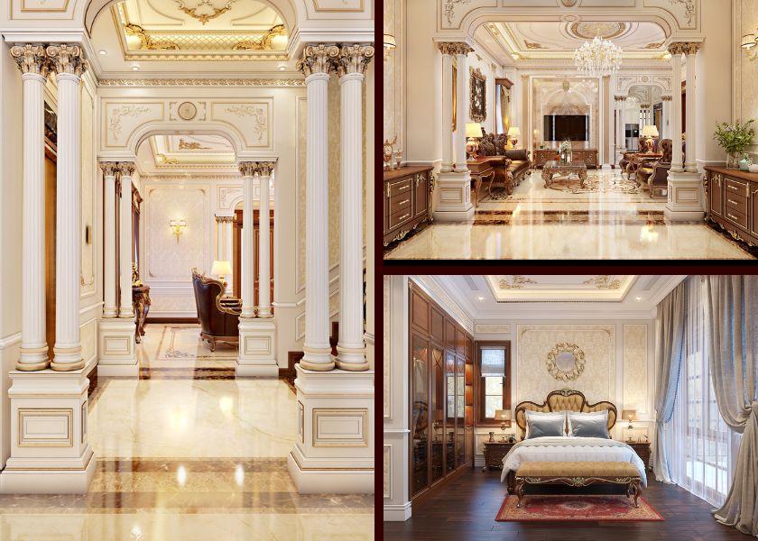 thiết kế nội thất biệt thự cao cấp chuyên nghiệp