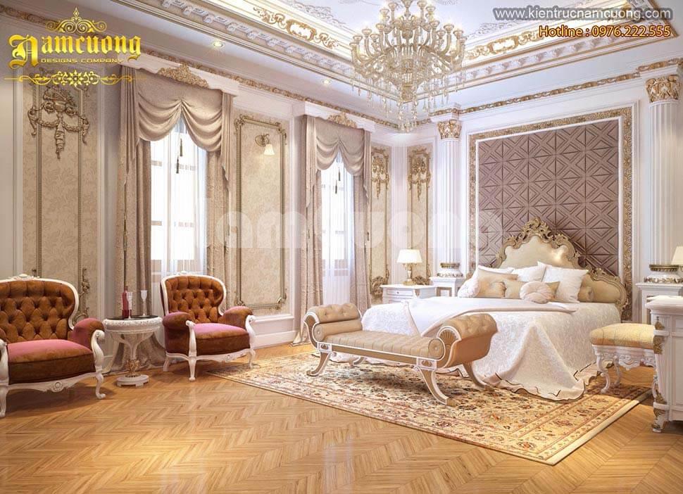 mẫu nội thất biệt thự lâu đài đẹp