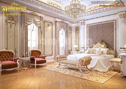 nội thất biệt thự lâu đài xa hoa bậc nhất tại Hà Nội