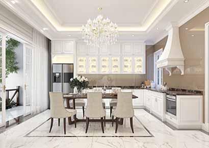 Thiết kế nội thất biệt thự liền kề đẹp