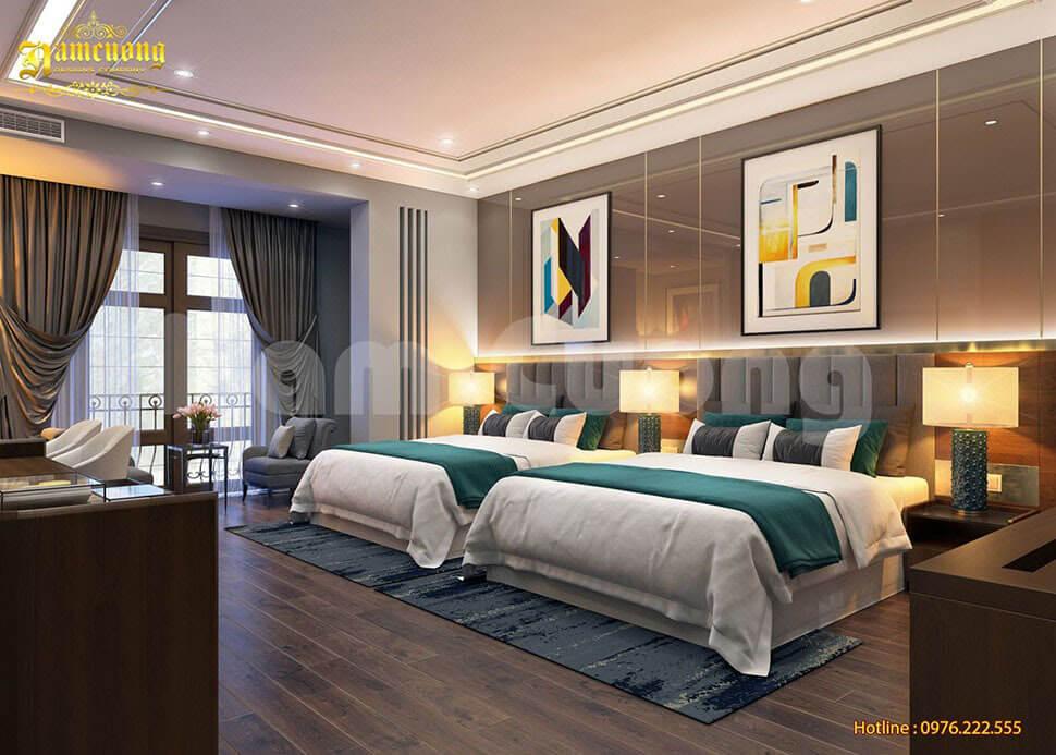 nội thất phòng ngủ khách sạn nha trang