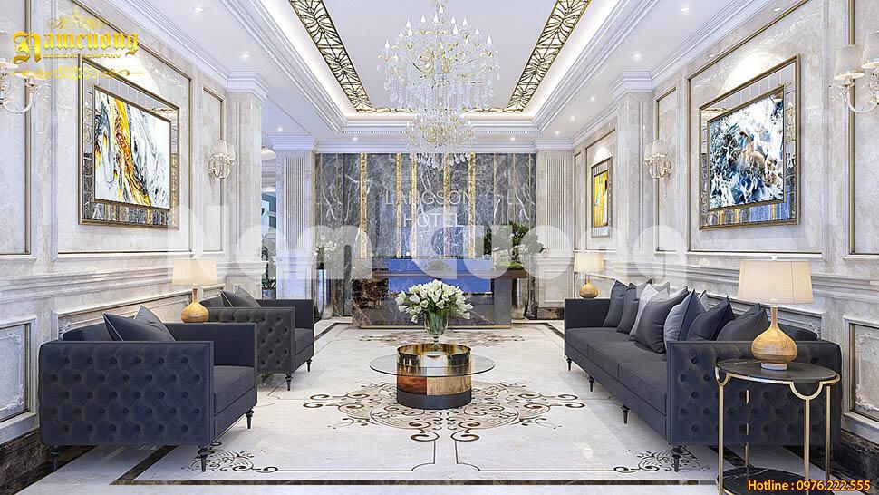 thiết kế nội thất khách sạn uy tín