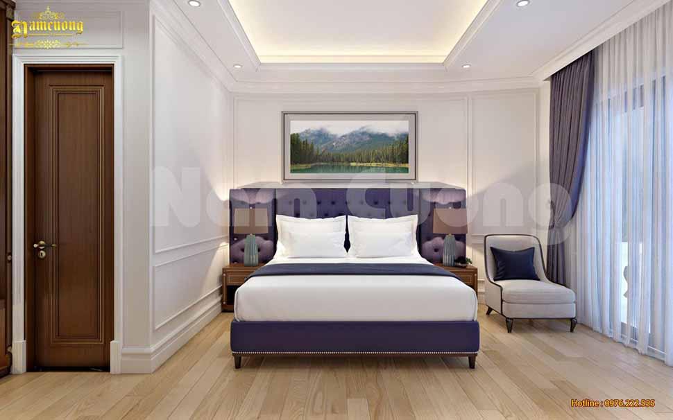 phòng ngủ đơn của khách sạn cao cấp
