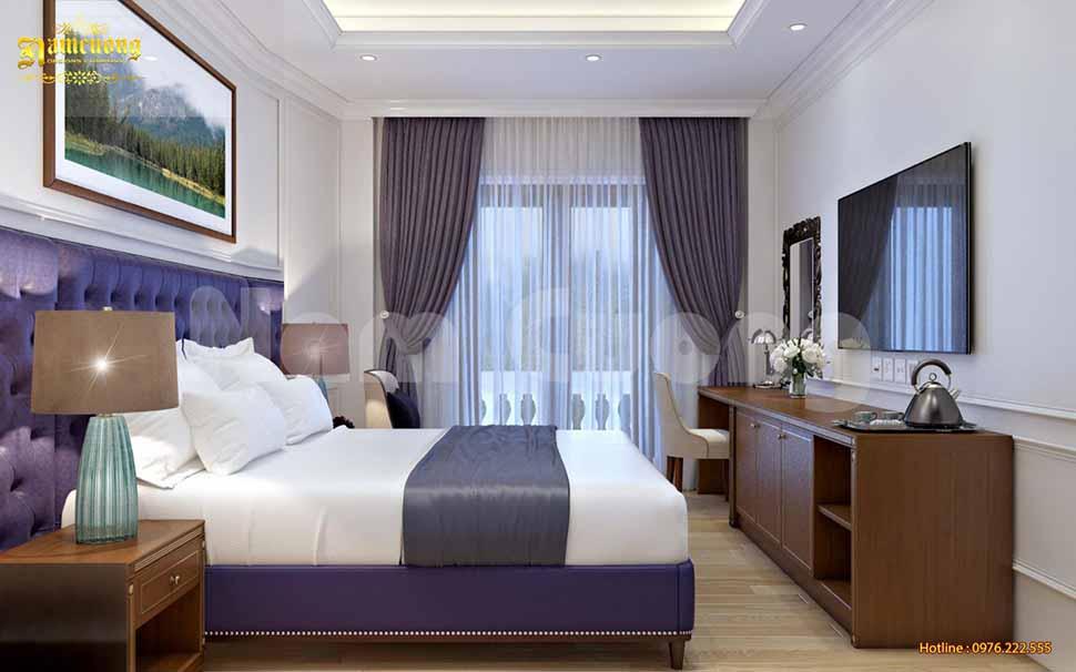 màu sắc khách sạn cao cấp