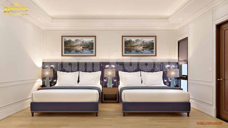 thiết kế phòng ngủ đôi