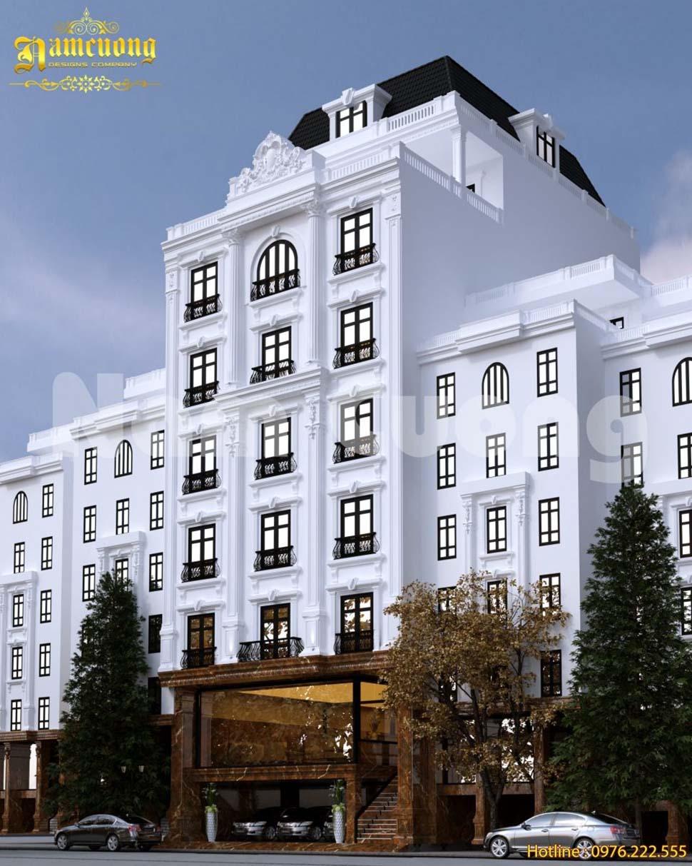 chi phí thiết kế khách sạn