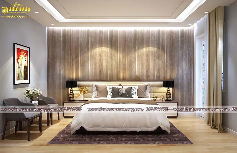 phòng ngủ bố mẹ 25m2