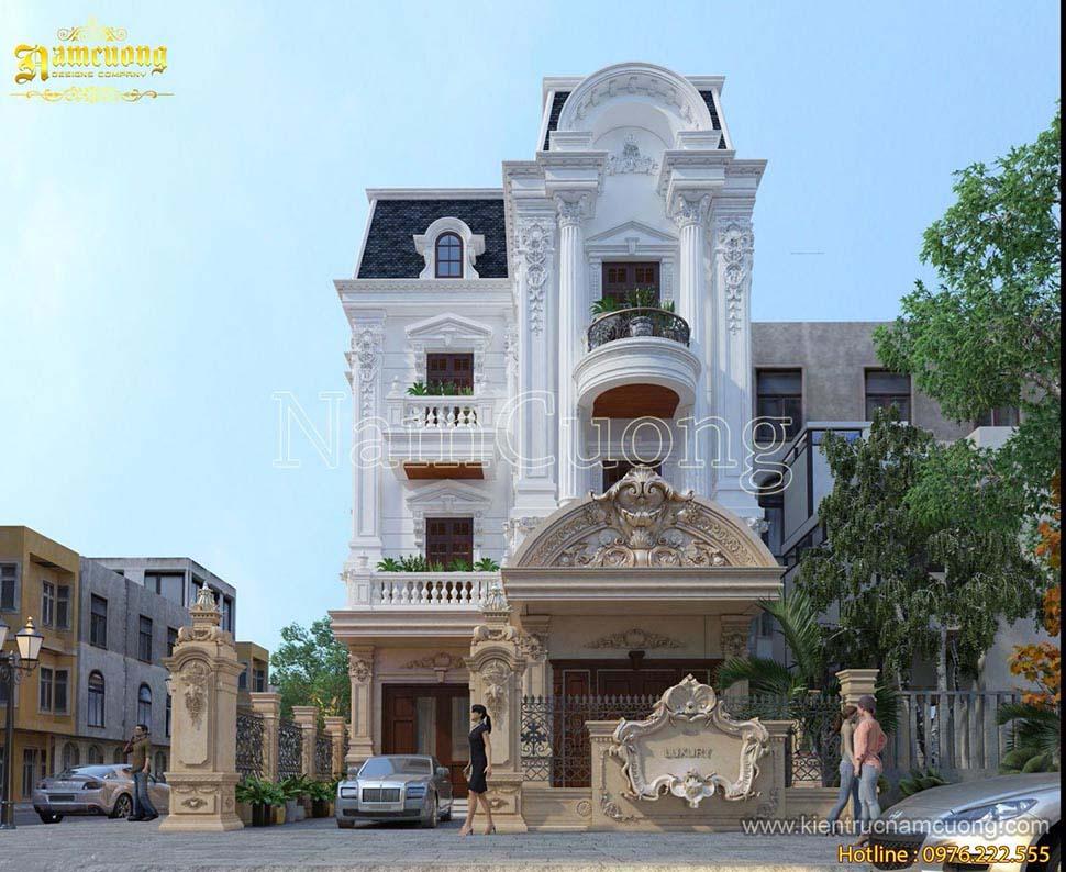 kiến trúc nhà mặt tiền 9m