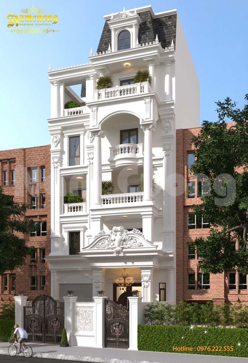 kiến trúc biệt thự phố
