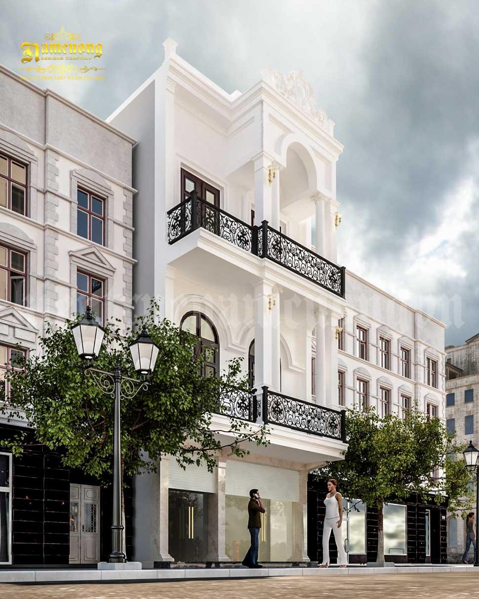 kiến trúc biệt thự phố mặt tiền 9m