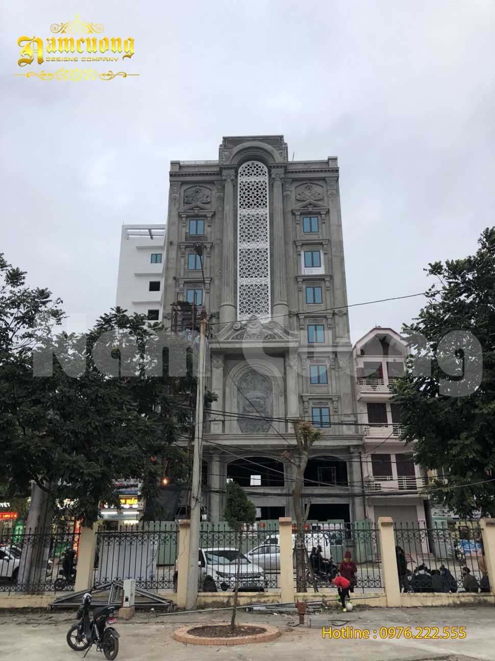 thi công khách sạn 3 sao tại Lạng Sơn