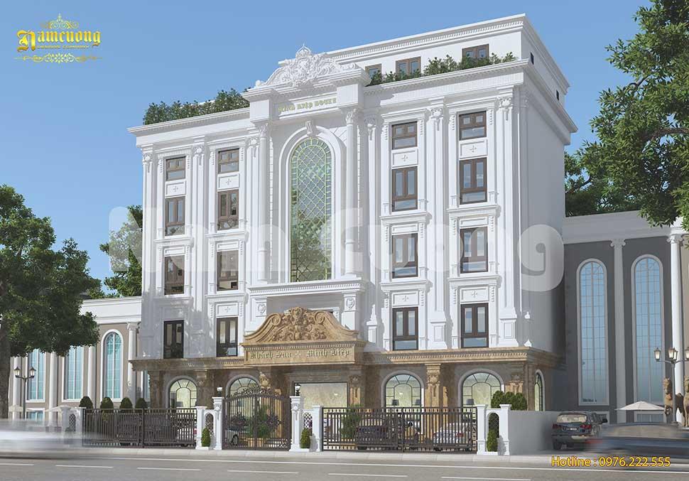 mẫu khách sạn 4 sao đẹp
