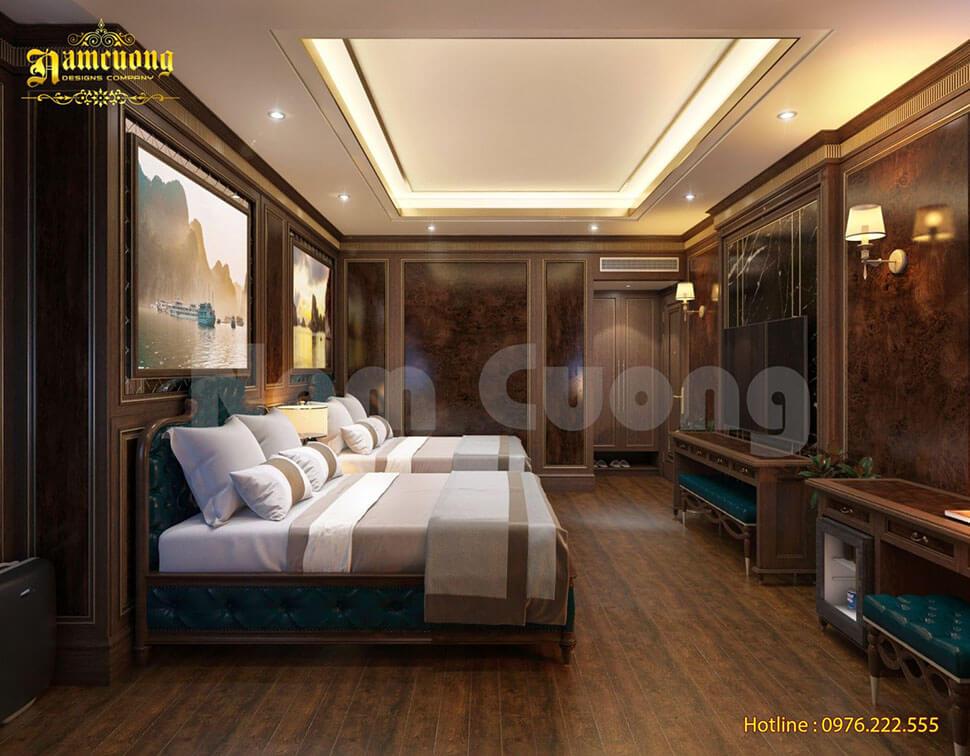 nhiệm vụ thiết kế khách sạn