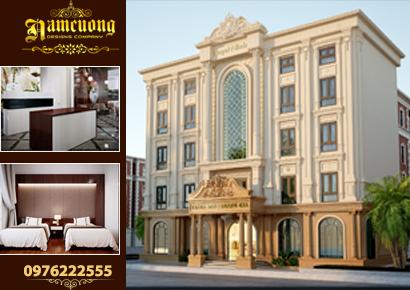 thiết kế khách sạn đẹp tại quảng ninh