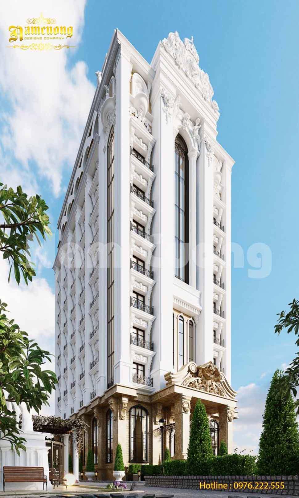 khách sạn cổ điển 11 tầng