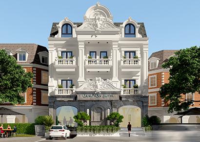 thiết kế khách sạn cổ điển uy tín