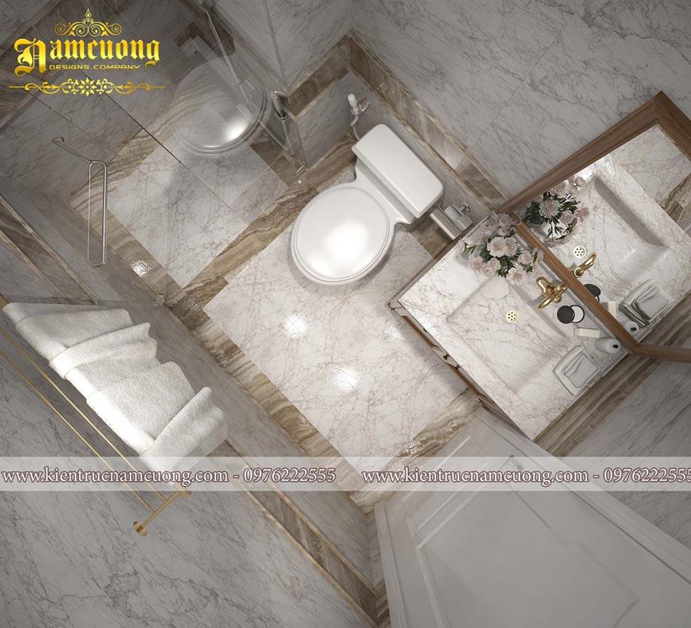 phòng tắm khách sạn hiện đại
