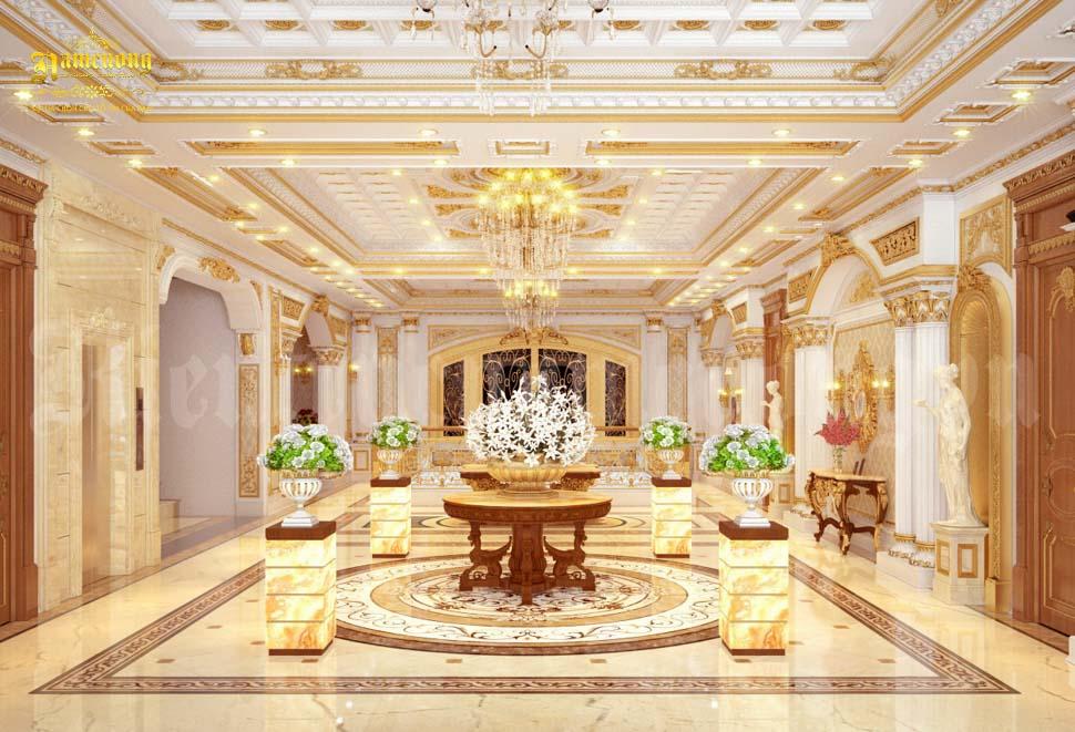 màu sắc khách sạn tân cổ điển
