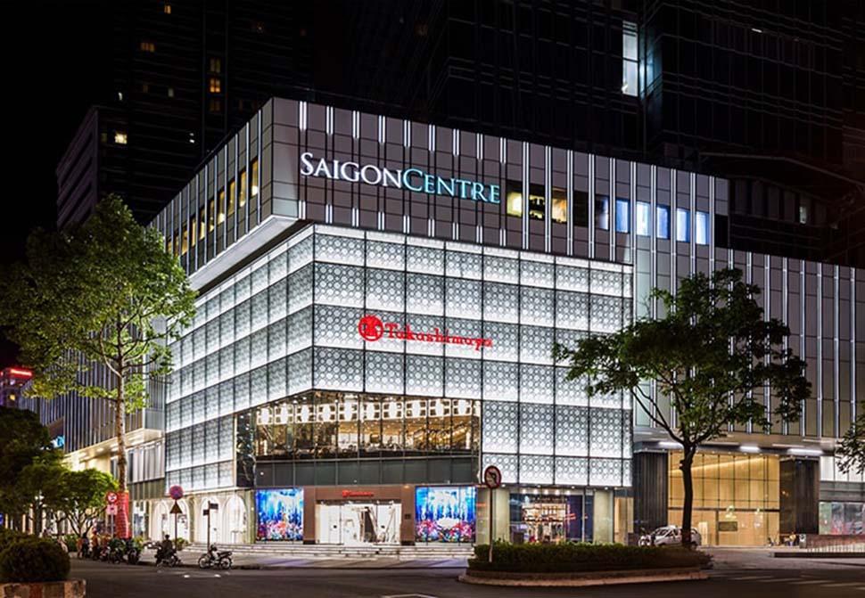 trung tâm thương mại hạng 1