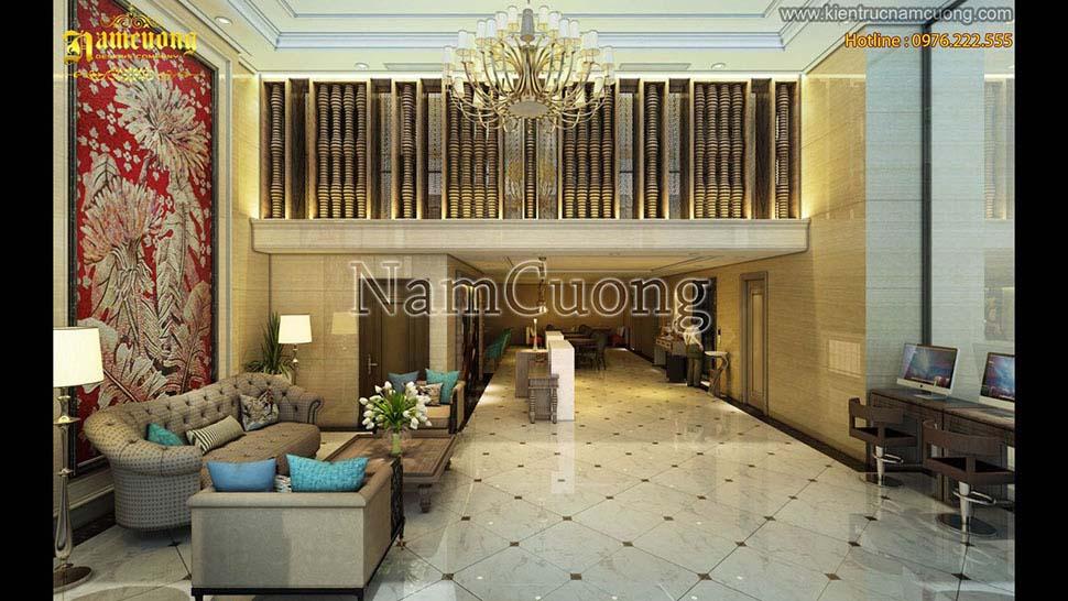 sảnh khách sạn cao cấp