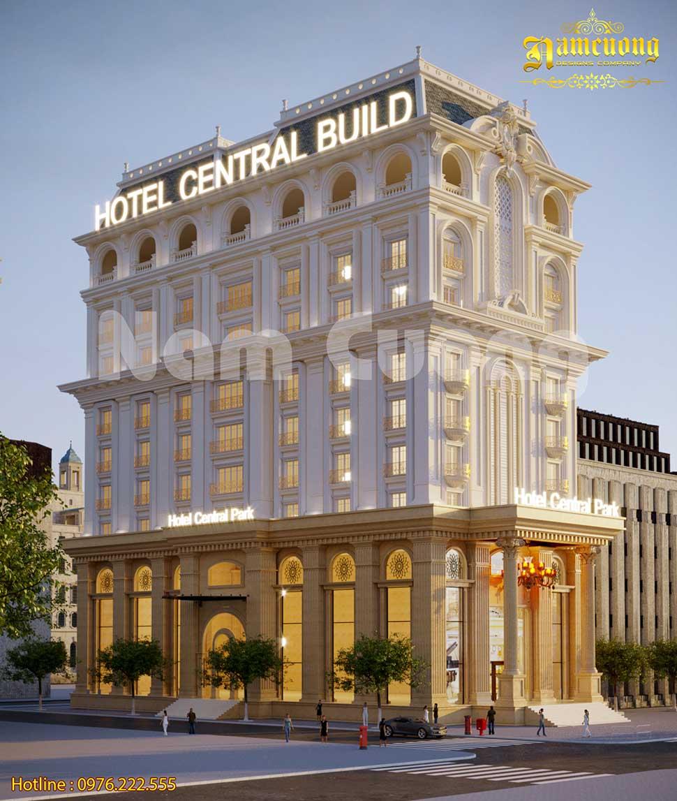khách sạn 3 sao phong cách Pháp