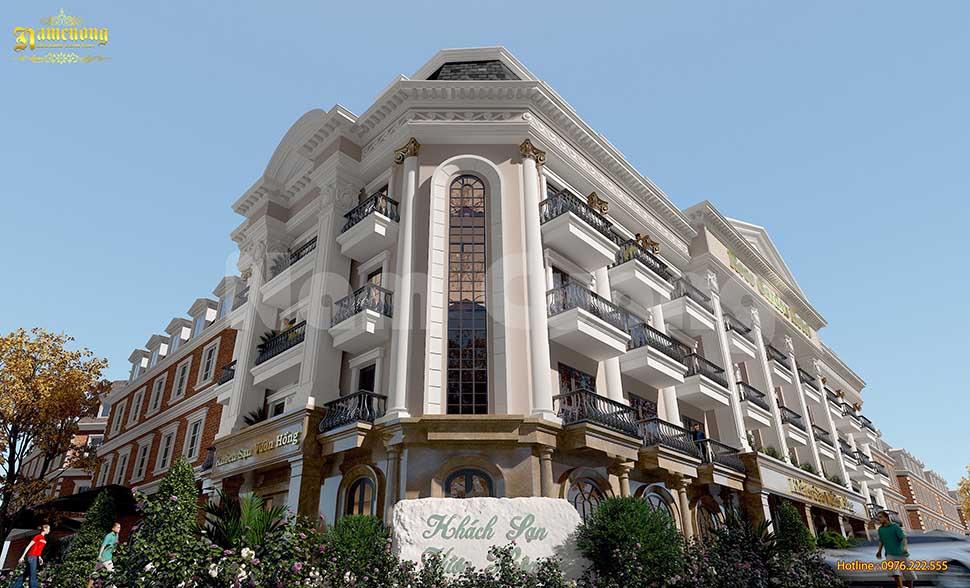 mẫu khách sạn cổ điển