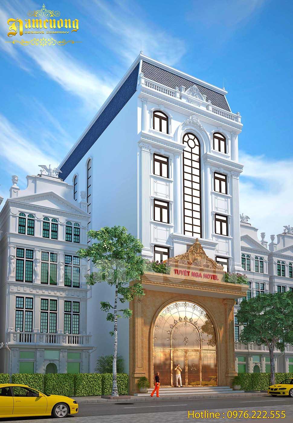 mặt tiền khách sạn 10m