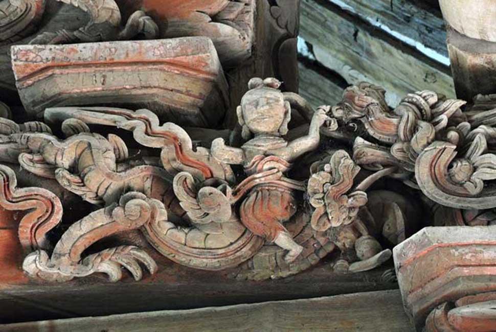 chạm trổ điêu khắc kiến trúc baroque