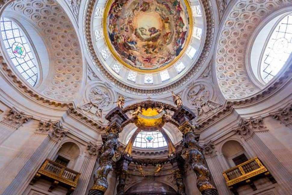 nội thất baroque ấn tượng