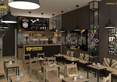 thiết kế cafe hiện đại uy tín