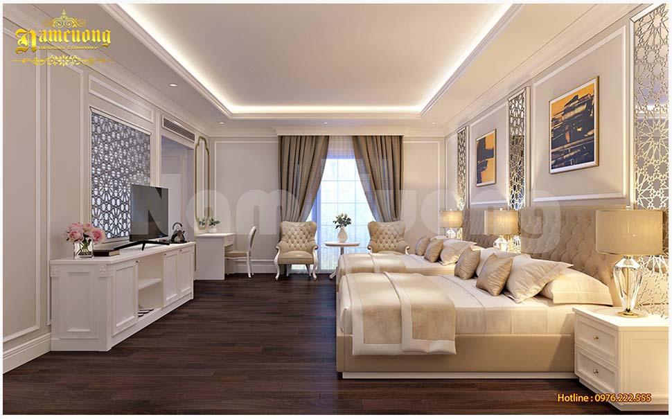 giường ngủ khách sạn đẹp