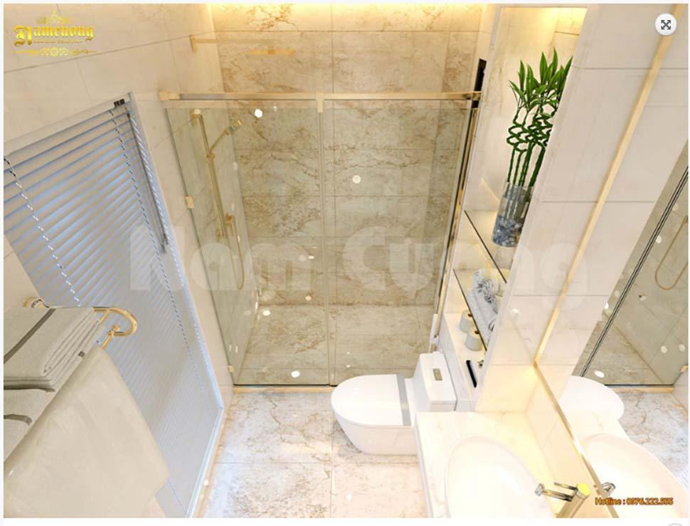 nội thất WC khách sạn