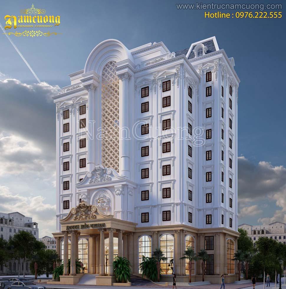 bản vẽ thiết kế khách sạn