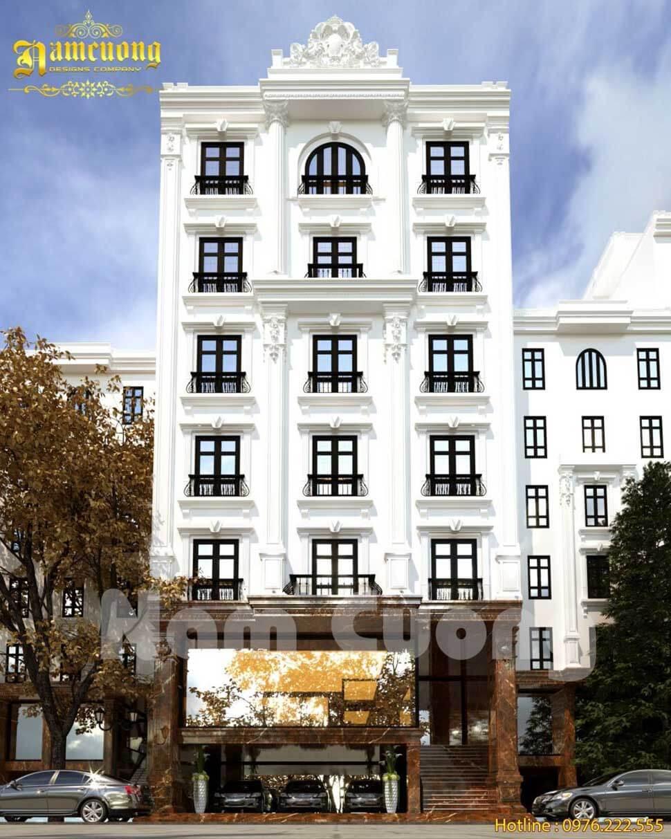 Khách sạn thiết kế 7 tầng