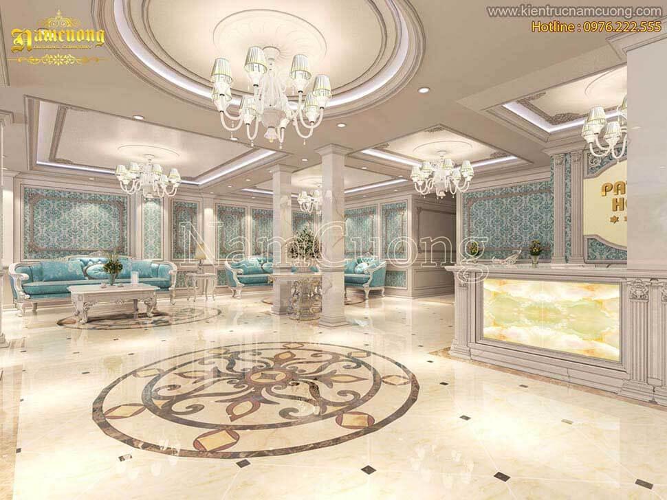 sảnh chính khách sạn