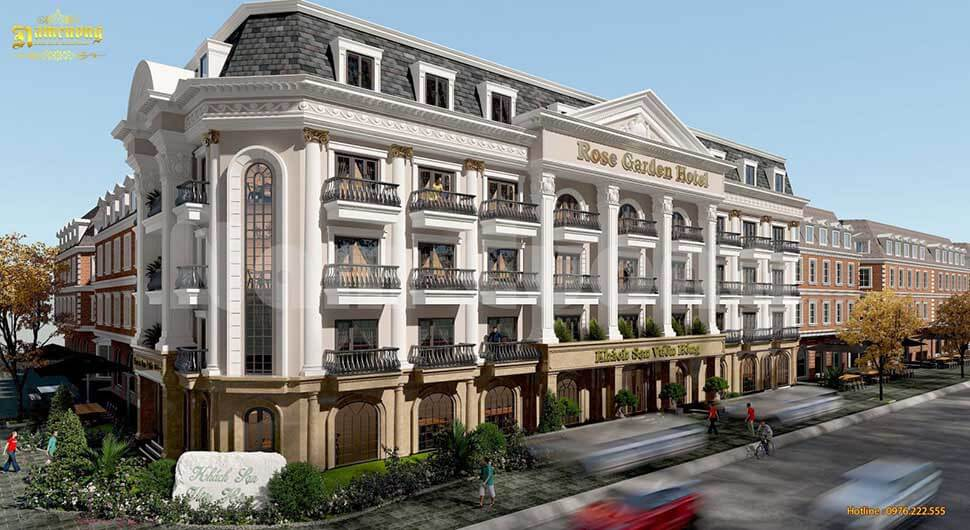 Phối cảnh 3D khách sạn