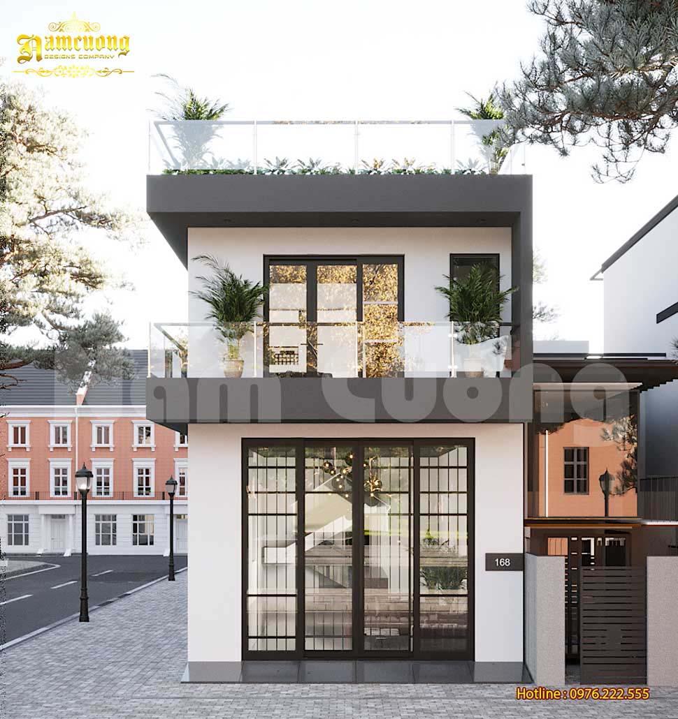 thiết kế nhà hiện đại chi phí thấp