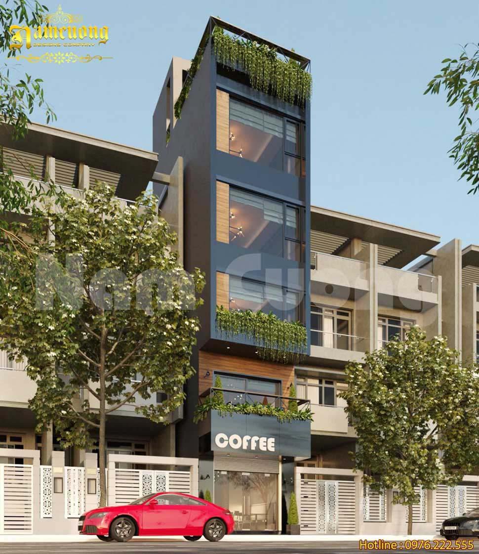 kiến trúc nhà phố kết hợp kinh doanh