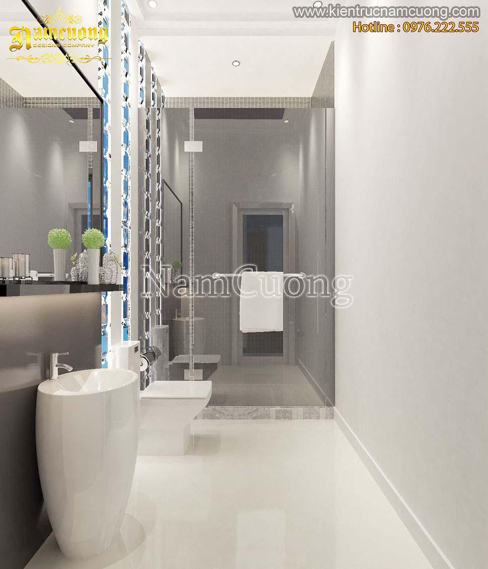 phòng tắm biệt thự nghỉ dưỡng