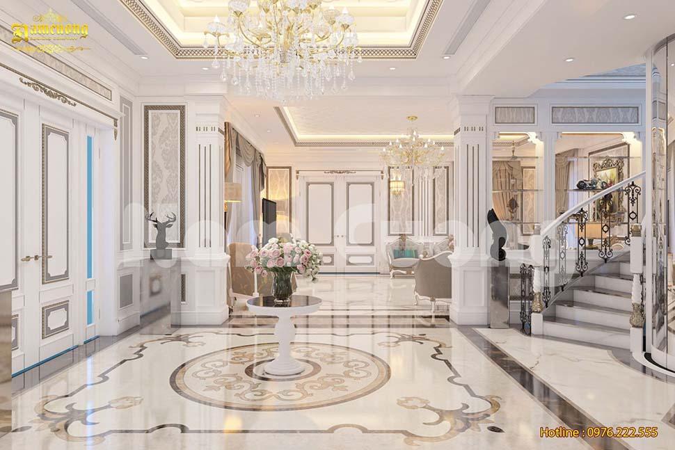 Thiết kế nội thất biệt thự vinhomes green bay hiện đại