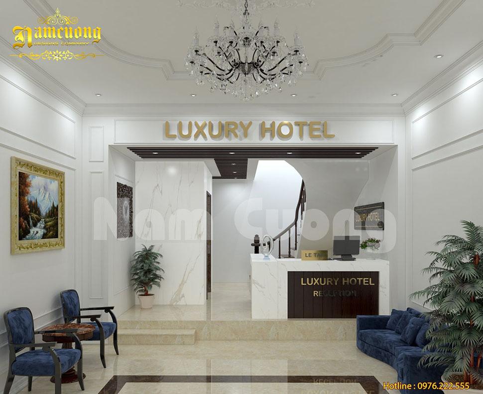 sảnh khách sạn hiện đại