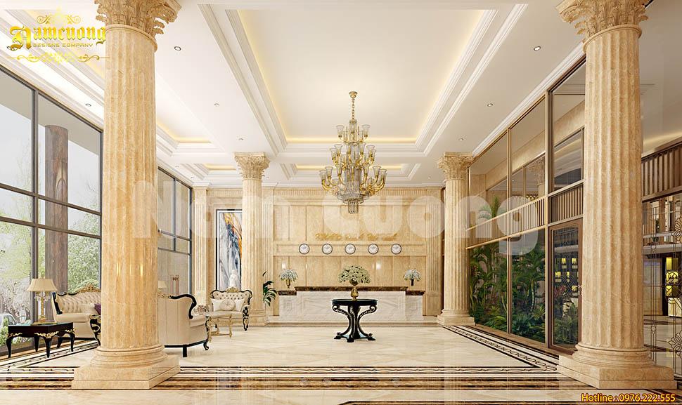 nội thất khách sạn tân cổ điển