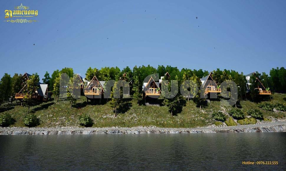 thiết kế resort bungalow