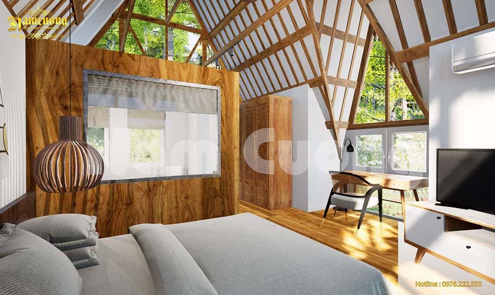 thiết kế resort tạo trải nghiệm cho khách hàng