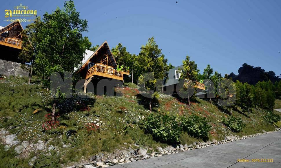 thiết kế resort nhỏ cũng là lựa chọn được nhiều chủ đầu tư lựa chọn