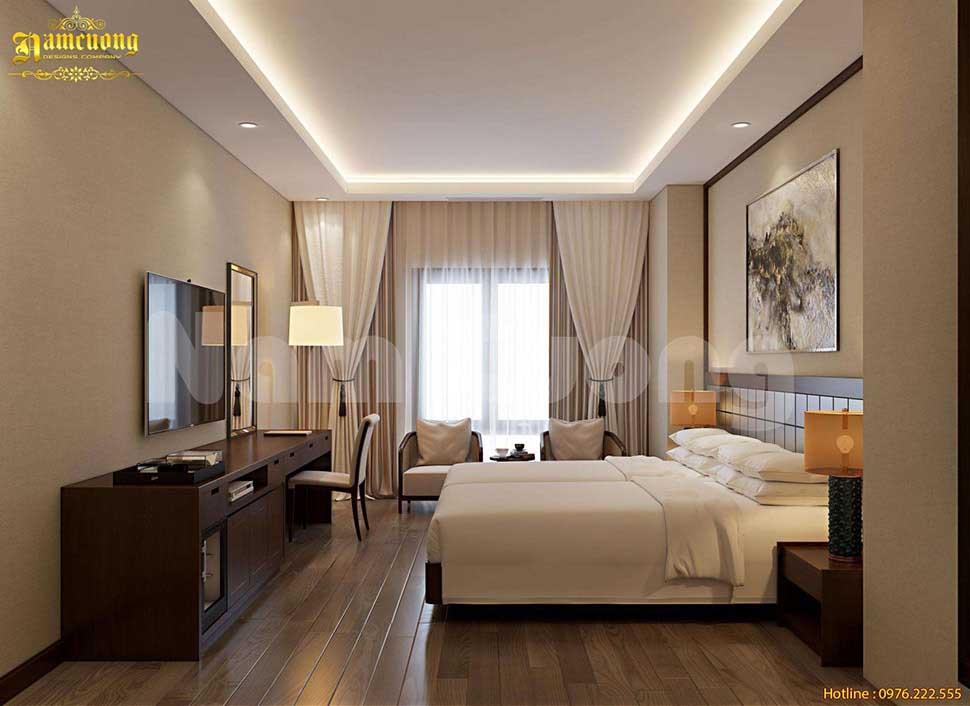 tiêu chuẩn thiết kế ánh sáng khách sạn mini
