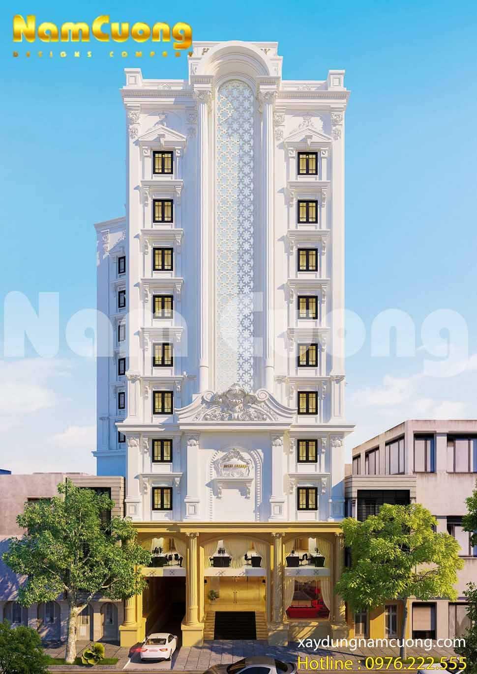 tiêu chuẩn thiết kế kiến trúc khách sạn mini