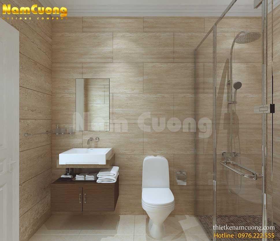 tiêu chuẩn phòng tắm khách sạn mini