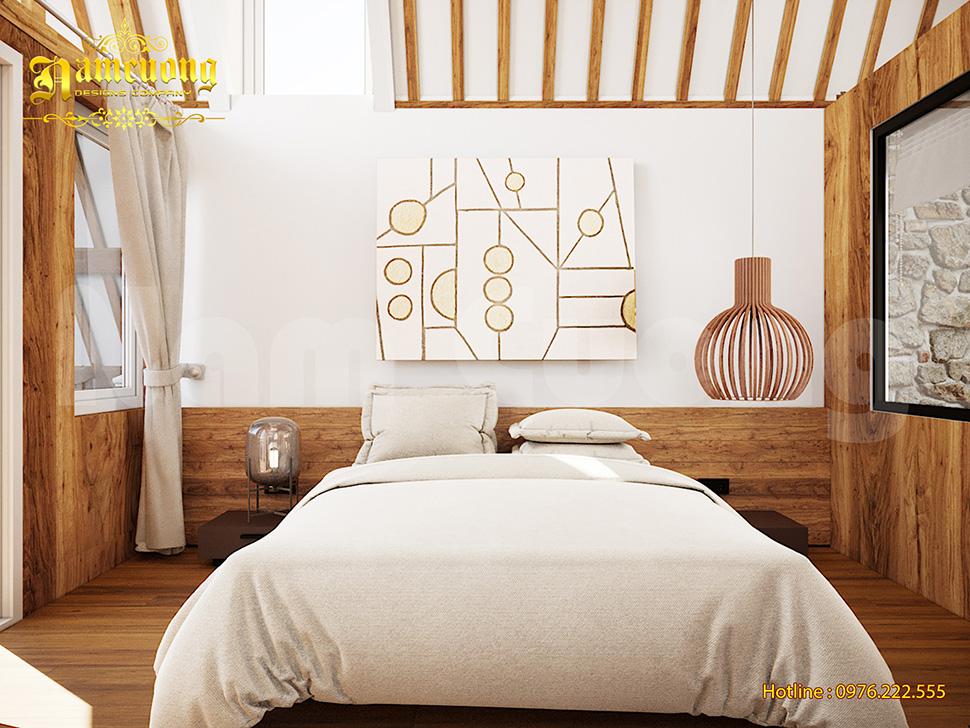 trang trí nội thất resort